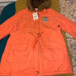 NWT Orange jacket!